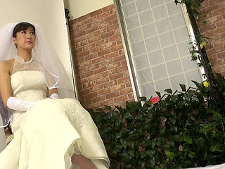 Japanese Bride Getting Fucked Hard