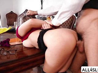 Lovely Lena Paul Gets Her Cute Pussy Banged By Charles Cock