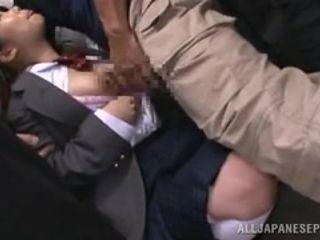 men abuse japanese schoolgirl outside