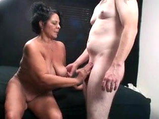 Hot older woman
