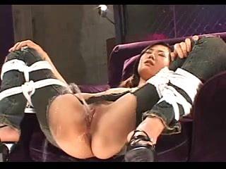 Japanese - Bondage Gangbang with Pissing