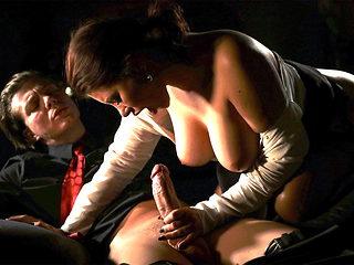 Anna loves her boss big cock