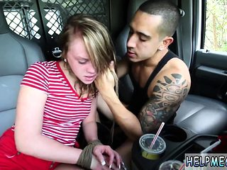 Huge cock rough fucked hard Lizzie Bell went out for a ordin