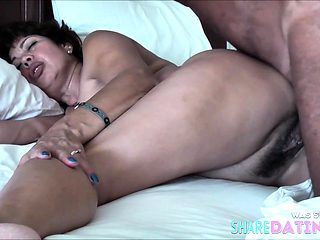 HOT ASIAN WIFE AND SUDDEN INTERNAL CUM