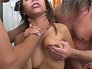 Lela Star Hard Fucked By Two