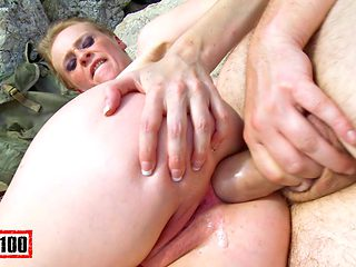 Angie Scorp & Terry in Sodomisation At The Beach - MMM100