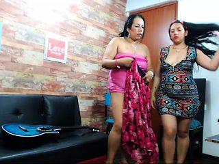 Mature BBW Teaches Chubby Lesbian