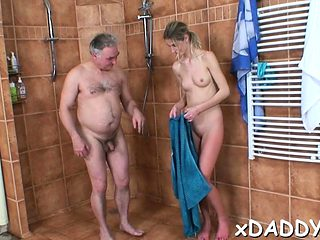 Passionate playgirl wanted to fuck an old man at least once