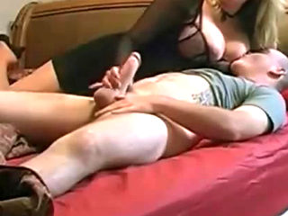 His Hot Sexy Mom Pleasures Him