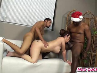 maxcuckold.com Banging With Two BBC