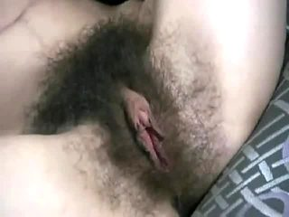 Big hairy bush with big clit