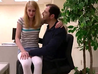 Daddy And Step Daughter Fucking At The Office