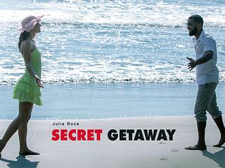 Julia Roca in Secret Getaway - BlackIsBetter