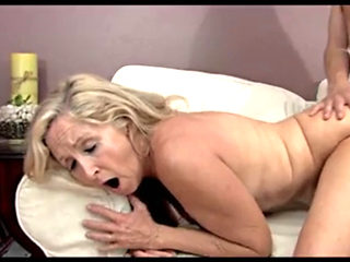 Fitness Granny Seduces Young Guy