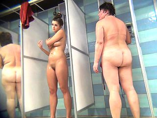 Hidden Camera In Public Pool Shower Room