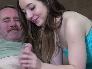 Bambi Brooks With Her Daddy