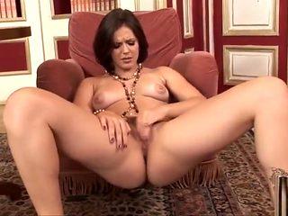 Bobbi Starr masturbating to orgasm