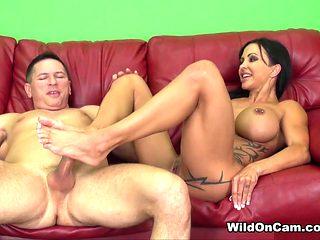 Best pornstar Jewels Jade in Crazy Big Tits, Brunette adult video