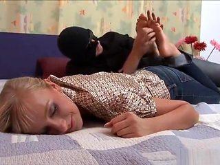 sleep tickling