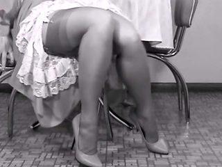 Mom's legs & panties