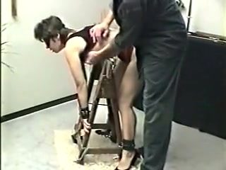 Incredible homemade BDSM, Spanking sex video