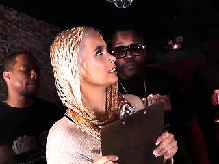 Interracial Gangbang With Anal Slut Aaliyah Hadid
