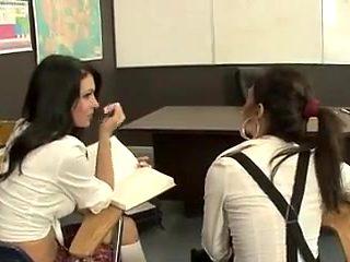 Lesbian teacher and her student (Olivia)
