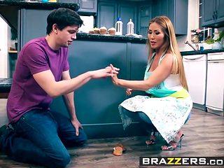 Brazzers - Mommy Got Boobs -  Bake Sale Bang scene starring