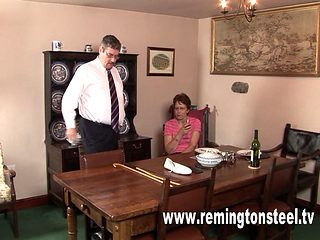 Mature Wife Takes A Caning
