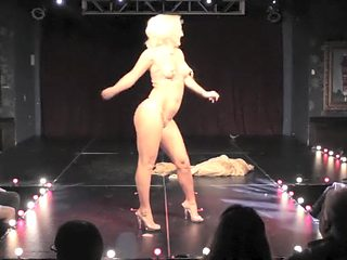 Burlesque Strip SHOW 53 Missy Lisa Naked Cirkus
