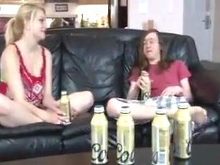 Stepbrother and sister get horny together !