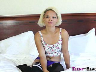 Ass Fucked Ebony Teen