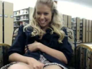 Amateur Teen Blonde in Public