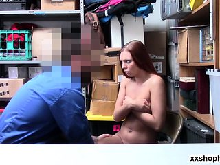 Czech Babe Ornella Morgan strip search and gets fuck with du