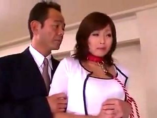 Nippon no bijin oksuan slave horny wife given to junior man