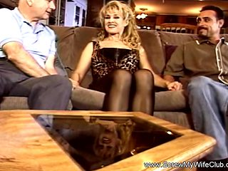 Blonde MILF Gets Used Like A Whore While Hubby Watches