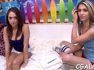Hot And Raunchy Blowjobs Teen Clip 4