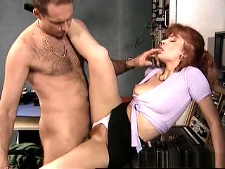 Amazing pornstar in fabulous anal, hairy sex clip