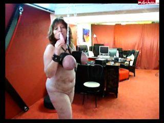 German BDSM studio with busty sub mom