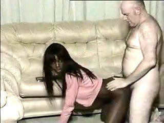 Amazing amateur Doggy Style, Black and Ebony sex clip