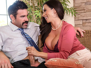 Ariella Ferrera & Charles Dera in My Sons Teacher - BrazzersNetwork