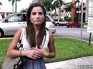 Sexy college chick Chichi goes at the meeting with her new boyfriend! We decided to give her a li...