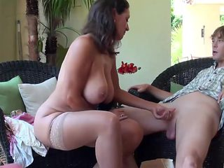 Stepmom Stepson Affair 86 (Mommy Sex Education)