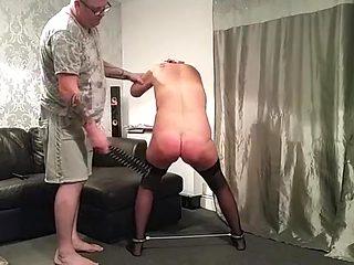 Best homemade Fetish, Spanking sex scene