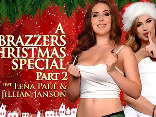 Jillian Janson & Lena Paul in A Brazzers Christmas Special: Part 2 - Brazzers