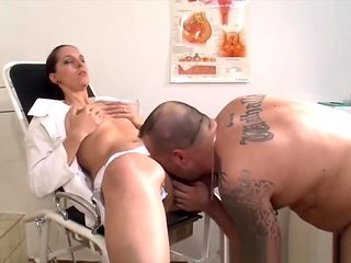Slutty German Nurse Sucks And Fucks