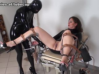 Jana Puff in Latex And Cold Steel - FunMovies
