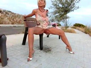 Exotic Pissing, Mature porn video