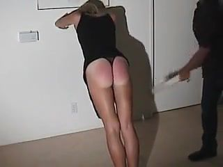 T gets a spanking