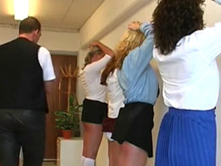 German Catholic Highschool Girls In Trouble